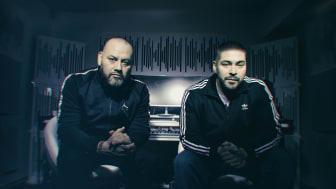 Från Redlines studios ska bröderna Salazar hjälpa hiphopintresserade över hela landet att våga ta första klivet  in i musikskapandet. Foto: Camilla Cherry