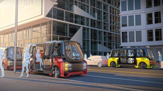 Urban mobility pods to be driven by 360-degree steering technology