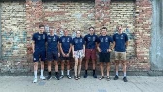 EM laget, som deltok i Serbia 13.-16. august.