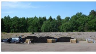 C-rapport: Läkemedel och hormoner i avloppsslam under lagring, kompostering och ammoniakbehandling
