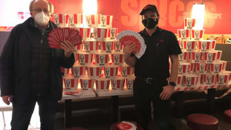 KFC spendet rund 130.000 Euro für die Tafeln