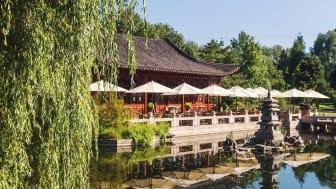 Berlin: kinesisk tehus ved dammen