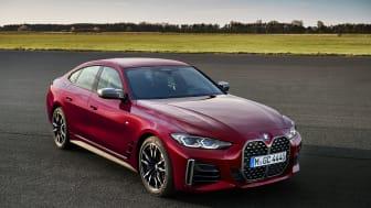 BMW:n uusi 4-sarjan Gran Coupé huokuu tyylikästä urheilullisuutta