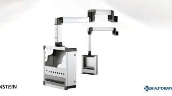 Ergonomisk arbetsposition med kompletta bärarmssystem