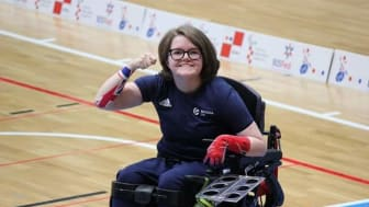 Local Paralympian Claire Taggart hits the double GOLD!!