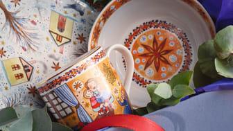 """Limitierte Sammelstücke, Teller, Tassen, Geschenkartikel: die neue Renata-Sammelkollektion 2020 dreht sich rund um das Thema der heimischen """"Weihnachtsbäckerei""""."""