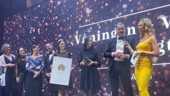 Våningen & Villan Nybyggt vinner Årets mäklarkontor på Guldhemmet!