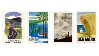 Svensk affisch: © Olle Skrede. Finsk affisch: © Paul Söderström & Göran Englund. Norsk affisch: okänd konstnär. Dansk affisch: © Aage Rasmussen & Dansk Plakatmuseum.
