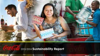 Coca-Cola julkaisi globaalin vastuullisuusraportin 2013/2014