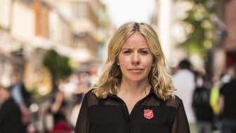 Madeleine Sundell, jurist och Frälsningsarméns nationella samordnare för arbetet mot människohandel. Foto: Jonas NImmersjö