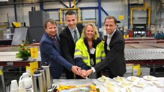 Representanter för DHL Express, Swedavia och Veidekke