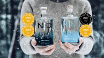 Mountain Dry Gin kammar hem högsta pris i prestigefyllda The Spirit Business Gin Masters