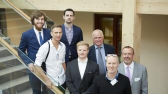 Några av entreprenörerna som deltar i SCA, IBM och BizMakers gemensamma satsning på skogliga startups, Forest Business Accelerator.