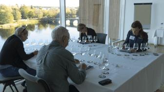 Under stor koncentration smakade juryn på vatten från de olika kommunerna.