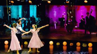 Musik på Kalmar Slott tillsammans med dans i Kalmarsalen avslutar Camerata Nordicas julkalender. Foto: Länsmusiken.