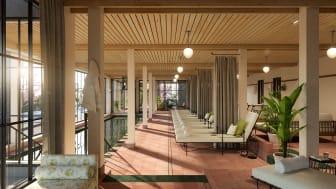 Smådalarö Gård Hotell & Spa erbjuder 2000 m2 spa, ute och inne.