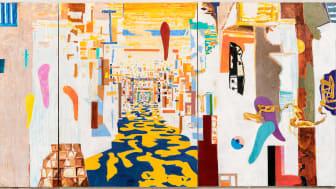 Årets sommerutstilling på KODE er viet den norske kunstneren Arvid Pettersen. (foto: utsnitt fra «The Moment of Change», 2021)