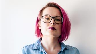 Emma Hällström är innovatören bakom Heather – en uppvärmd sittdyna.