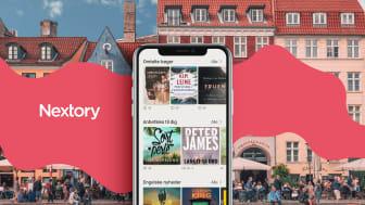 Nu lanceres Nextory i Danmark