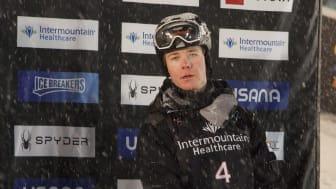 Walter Wallberg efter att ha säkrat fjärdeplatsen. Foto: Erik Danielsson
