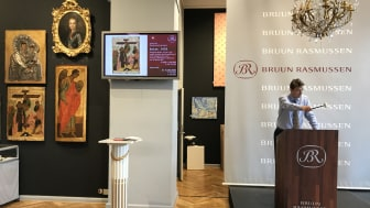 Frederik Bruun Rasmussen sets the World record on Russian icons with a hammer price of DKK 4.6 million (€ 620,000)