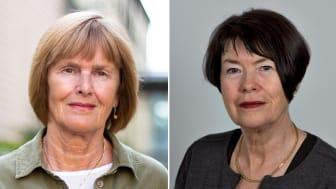 Elisabeth Häggström, docent i vårdvetenskap, och Ingela Enmarker, professor i vårdvetenskap.