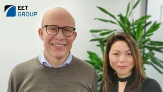 Kristian Lading and Sheraine Chua von Bescherer