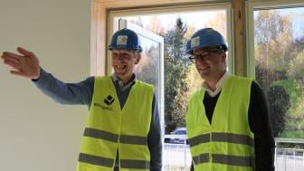Jon Carlsen og Øystein Eriksen Søreide