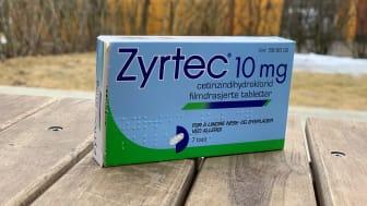 Omsetningstallene fra 2020 tyder på at mange var opptatt av å behandle allergien. Det ble solgt syv prosent mer allergimidler i fjor enn året før. Zyrtec er ett av legemidlene som benyttes ved allergi