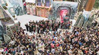 Changi Airport brings festive cheer to fans and visitors at its annual year-end event, A Wizarding World Holiday at Changi