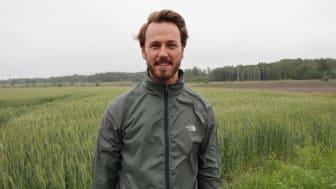Prosjektleder Landbrukets Økoløft, Markus Brun Hustad. Foto: Marte Guttulsrød