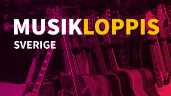 Studiefrämjandet presenterar MUSIKLOPPIS SVERIGE 2021