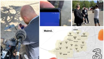 Invigning av Skånes första 5G-nät. Första 5G-samtalet gick till Markus Rosenberg.