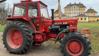 Under 2020 såldes närmare 200 Volvo BM-traktorer på Klaravik. Däribland denna 814 C som gick under klubban för 348 000 kronor.