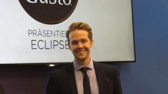 Kristofer Edholm is key account manager for Nestlé Nordic.