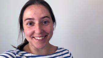 Katharina Lange, doktorand i VA-teknik vid Luleå tekniska universitet