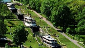 Bergs slussar, Göta kanal