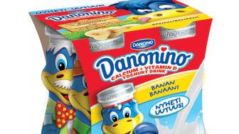 Danonino Drickyoghurt Dino Banan