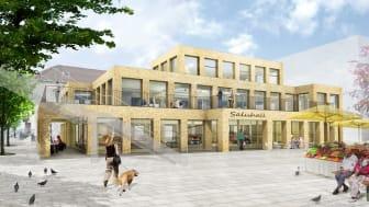 Pressinbjudan: Anneli Hulthén sparkar igång bygget av Göteborgs nya saluhall den 26 september