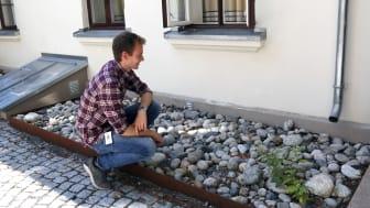 Sommervikar Sigurd på befaring