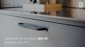 Beslag Design ställer ut på Bygg Reis Deg 2019