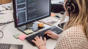 I Sverige saknas det idag utbildningar som matchar de behov som krävs för att den digitala omställningen ska kunna ske på bred front.