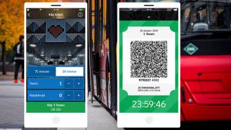 Nu finns 24-timmarsbiljetten att köpa i SL-appen.