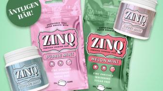 Nya smakerna Bubblemint & Melon Mint tillsammans med burkarna Strong Mint och Sweet Mint.