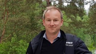 Johannes Nilsson, vd på Vimek AB. Foto: Johanna Peltoniemi, Kone-Ketonen Oy