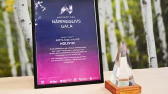 Holistic – vinnare av Årets arbetsplats