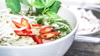 Mat tillagad med välbeprövade recept från det vietnamesiska köket
