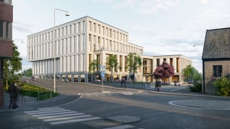 Det nya Nordic Choice hotellet väntas stå klart under Q3 2021 och blir en kombination av ca 188 hotellrum och ca 60 longstay-bostäder.