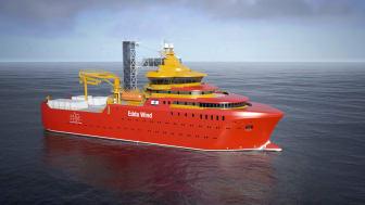 Enova tilbyr støtte til utredning av prosjekter som skal produsere hydrogen fra fornybar kraft til bruk i maritim transport. Forprojektstøtten skal videre bidra til å etablere knutepunkter for hydrogenproduksjon langs kysten. Ill: Østensjø