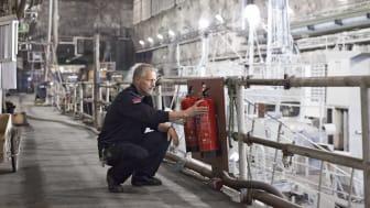Securitas återupptar utbildningar inom brand och säkerhet.